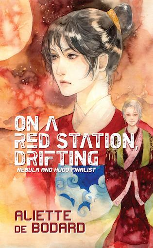 On A Red Station Drifting