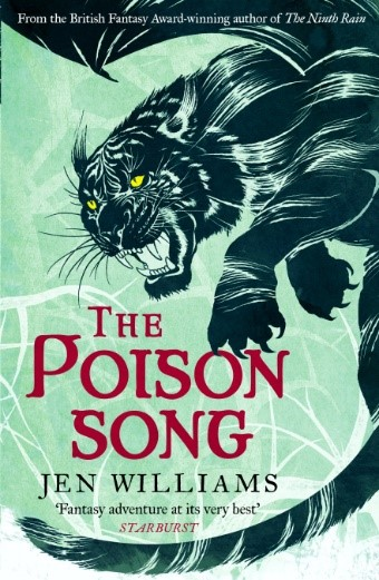 The Poison Song by Jen Williams